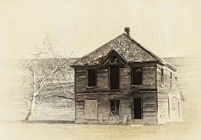 Abandoned Homestead - Okanogan Washington Poster