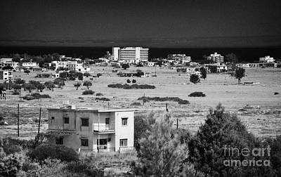 abandoned varosha ghost town in the UN buffer zone in the green line cyprus famagusta Poster