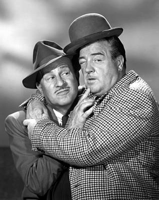 Abbott And Costello Show, The, Bud Poster by Everett