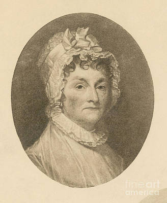 Abigail Adams Poster by Photo Researchers