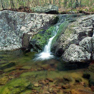 Above Mina Sauk Falls In Taum Sauk Mountain State Park Poster by Greg Matchick