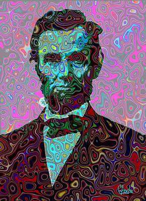 Abraham Lincoln Poster by Harold Egbune
