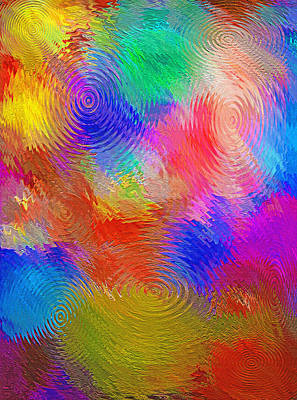 Abstract - Ripples Poster