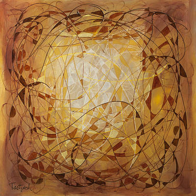 Abstract Art Eleven Poster by Lynne Taetzsch