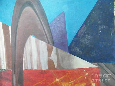 Abstract Poster by Delores Swanson