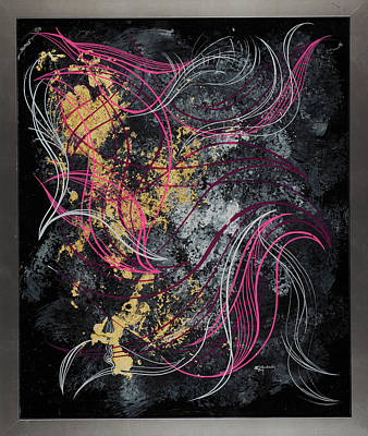 Abstract Feelings Poster