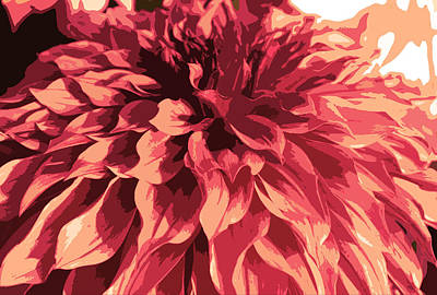 Abstract Flower 13 Poster by Sumit Mehndiratta