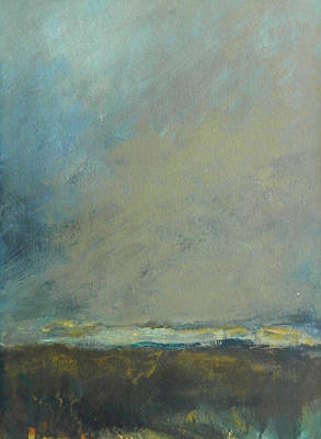 Abstract Landscape - Horizon Poster by Kathleen Grace