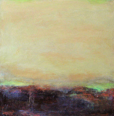 Abstract Landscape - Rose Hills Poster by Kathleen Grace