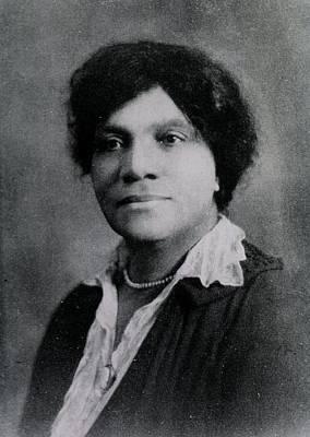 Adah B. Thoms 1870-1943, African Poster by Everett