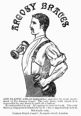 Advertisement: Suspenders Poster by Granger