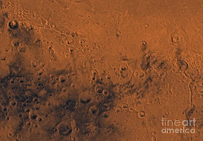 Aeolis Region Of Mars Poster