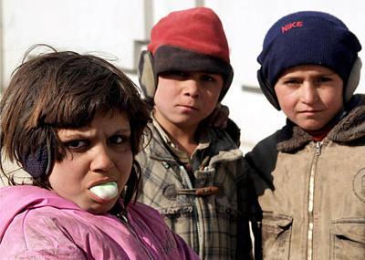 Afghan Children Poster