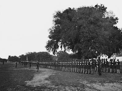 African Americans Soldiers Of The 29th Poster