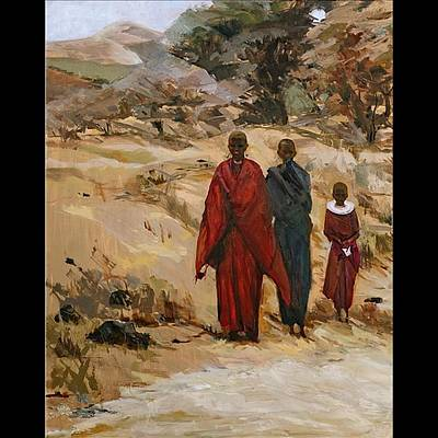 African Girls Poster