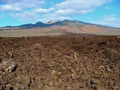 Ahihi-kinau Natural Area Reserve - Lava Flow - Maui Poster