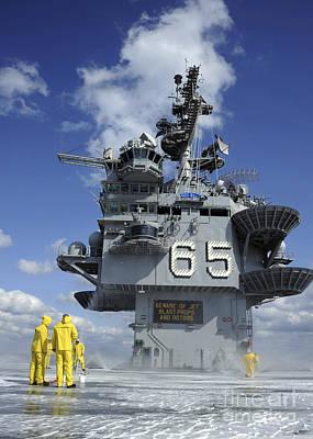 Air Department Sailors Test Poster