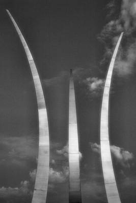 Air Force Memorial I Poster by Steven Ainsworth