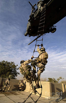 Air Force Pararescuemen Are Extracted Poster by Stocktrek Images