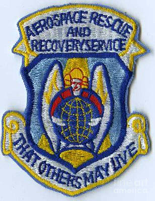 Air Rescue Patch Poster