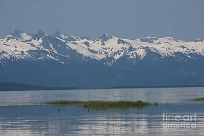 Alaska Mountain Range Poster by Brenda Doucette