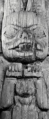 Alaska Totem Pole Poster