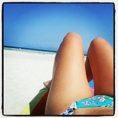 #alcudia #beach #mallorca Poster