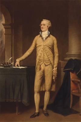 Alexander Hamilton 1757-1804 . He Poster