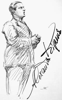 Alexander Kipnis (1891-1978) Poster by Granger