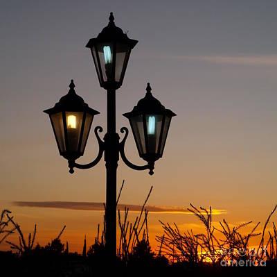 Algarve Lamps Poster