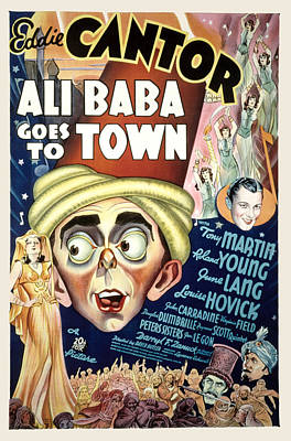 Ali Baba Goes To Town, Eddie Cantor Poster by Everett