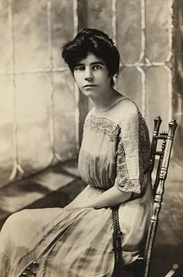 Alice Paul 1885-1977, Protested Poster by Everett