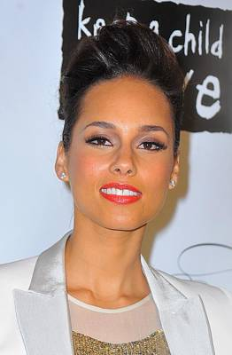 Alicia Keys At Arrivals For Keep Poster