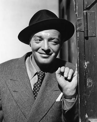 All Through The Night, Peter Lorre, 1942 Poster