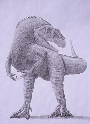 Allosaurus Poster by David Pry