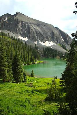 Poster featuring the photograph Alta Lake Colorado by Drusilla Montemayor