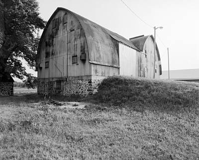 Aluminum Gotic Arch Barn Poster by Jan W Faul