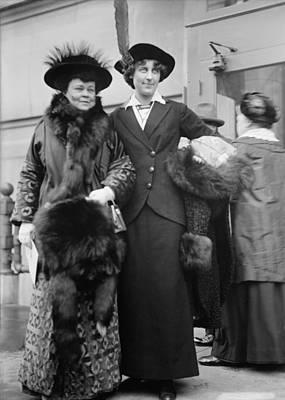 Alva Vanderbilt Belmont And Inez Poster by Everett