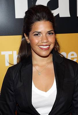 America Ferrera At A Public Appearance Poster by Everett