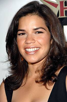America Ferrera At Arrivals For Hot In Poster