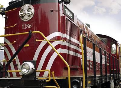 American Diesel Locomotive Poster