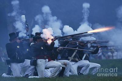 American Night Battle Poster
