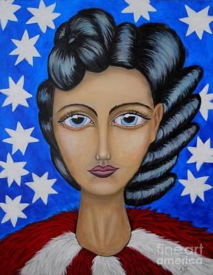 American Soul  Poster by Claudia Tuli