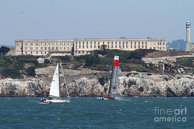 America's Cup In San Francisco - China Firefall - 7d18334 Poster