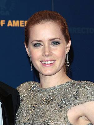 Amy Adams In The Press Room For Press Poster by Everett