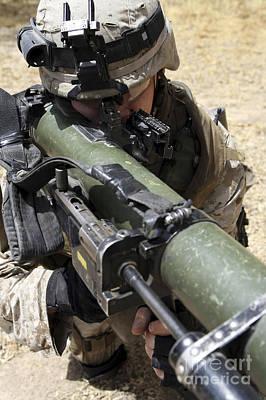 An Assaultman Handles Poster