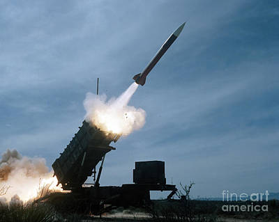An Mim-104 Patriot Missile Is Test Poster