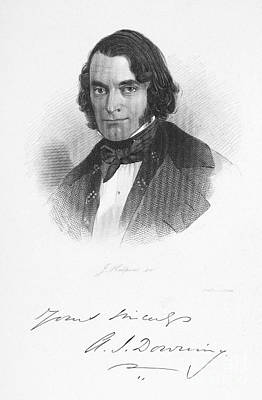 Andrew Downing (1815-1852) Poster by Granger