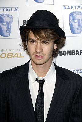 Andrew Garfield At Arrivals For 17th Poster by Everett