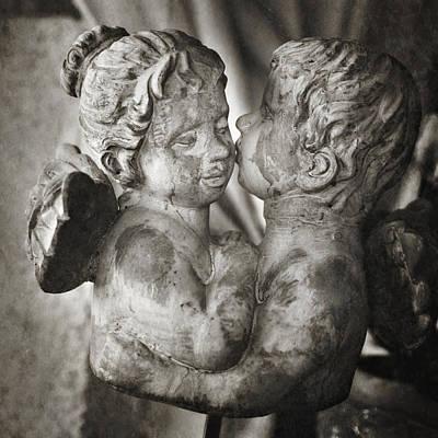 Angel Kiss Poster by Angela Bonilla